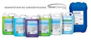 Silver Chemical é líder e fabricante de desinfetante concentrado