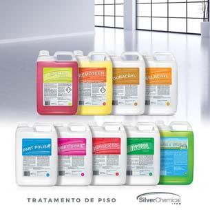 Fabricante de produtos de tratamento de piso: Saiba mais com a Silver Chemical