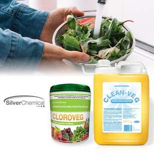 Silver Chemical tem o melhor sanitizante de frutas, legumes e verduras do mercado